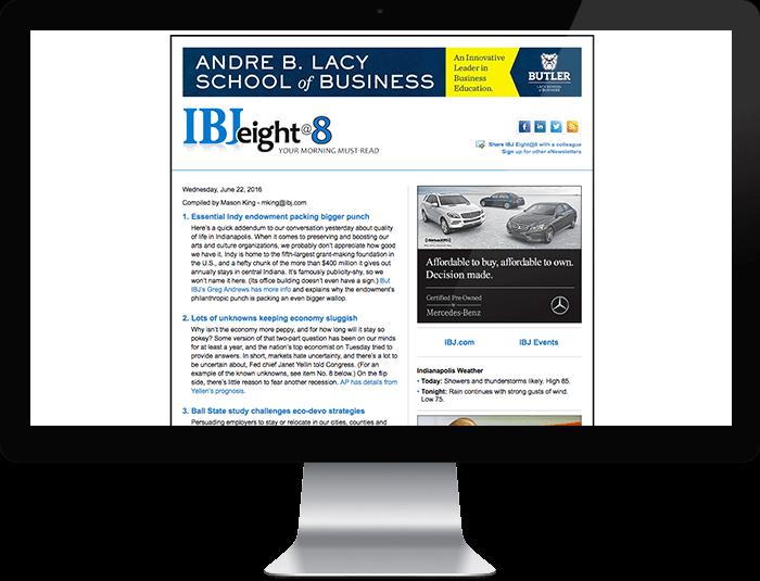 IBJ Eight@8 e-Newsletter